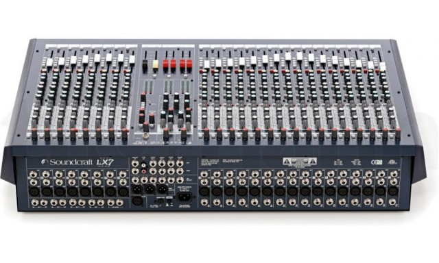 Vendo mixer Soundcraft lx7 II 24 con un estado impecable.