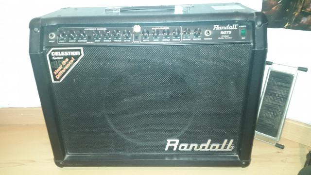 Randall RG 75 Celestion