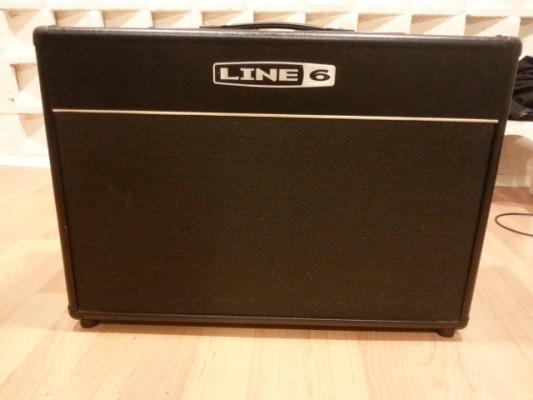 "LINE 6 VETTA II COMBO 2X12"" 150 w.+ FBV shortboard."