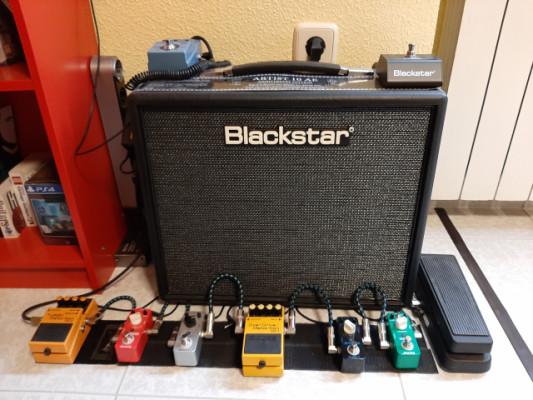 Set completo Ampli válvulas Blackstart Artist 10 AE + pedales + fuente...