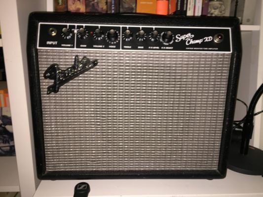 Fender Super Champ XD. 15wat Valvulas ( REBAJADO)