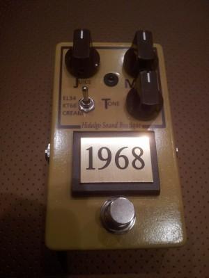 1968 Plexi 50 sound Pedal ...by HIDALGO SOUND BOUTIQUE. (Por encargo) VIDEO/DEMO