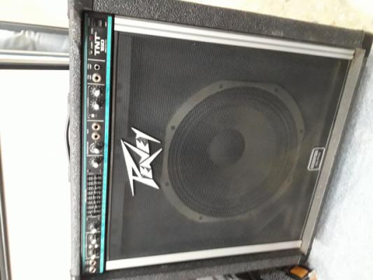 Amplificador de bajo Peavey TNT 160 ( USA )