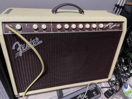 Fender Supersonic22 (máster volumen, recap , válvulas con 10 horas)