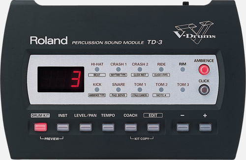 Modulo Roland TD-3 RESERVADO.