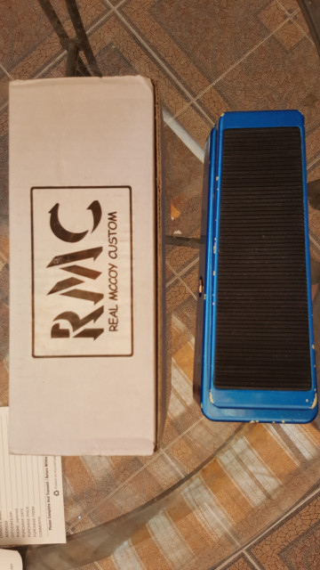 Real McCoy Custom RMC Wah Joe Walsh Signature