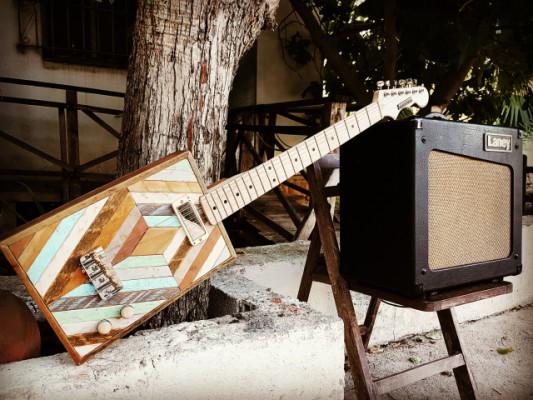 Cigar Box Guitar Loluthier Modelo Hendrix