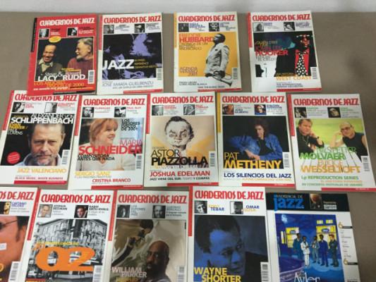 14 revistas cuadernos de jazz