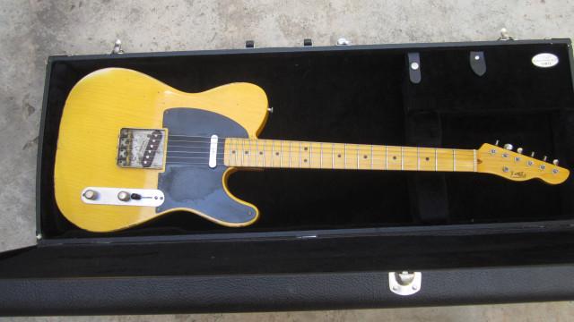 LSL Telecaster por guitarra acústica