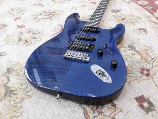 Fender Stratocaster American Deluxe FMT HSS Cobalt Blue