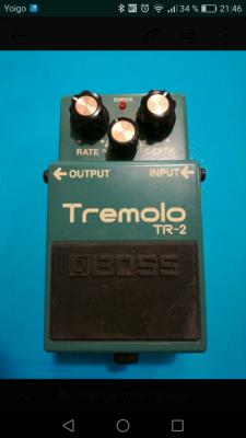 Pedal tremolo Boss Tr2