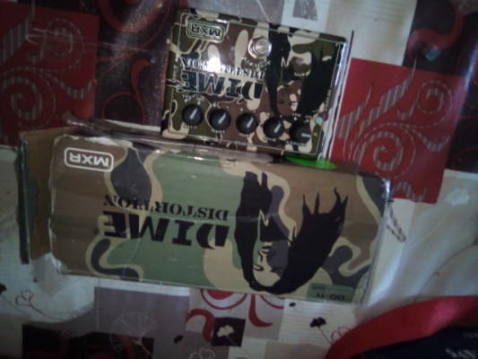 MXR DD11 Distortion Dimebag Signature