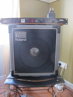 Vendo amplificador de guitarra Roland Super Cube 40 de 1981