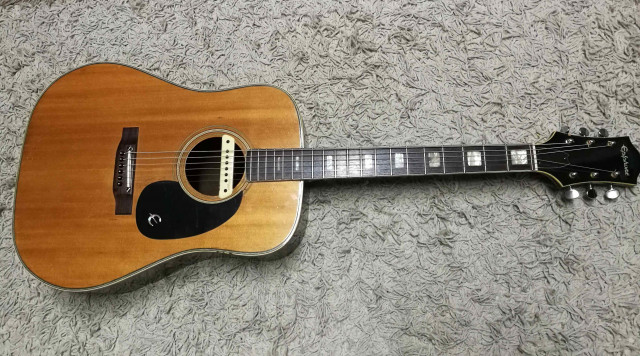 Epiphone FT 150 BARD (made in Japan) + L.R. BAGGS M1 activa