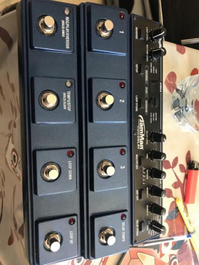 Digitech Jamman Looper- Delay y varios pedales Nux.