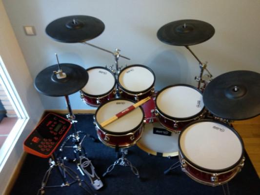 Batería electrónica Drumtec Diabolo