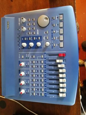 Tascam us 428. Controlador daw, midi y audio interface