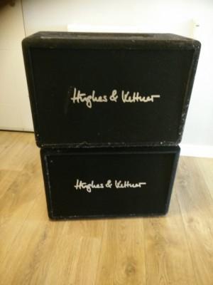 2 cajas 1x12 Hughes&Kettner ed. Limitada