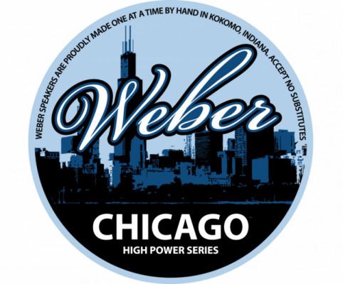 """Altavoz Weber Chicago 12"""" 4 ohm 80 watts"""