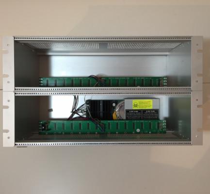 """Doepfer A-100 G6 frame 19"""" 6U PSU 3 Eurorack"""