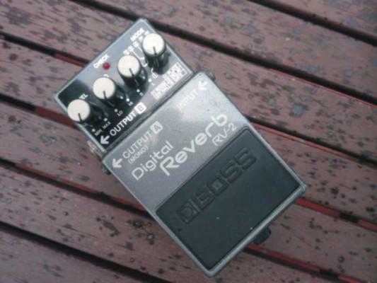BOSS RV-2 Digital reverb. Made in Japan. 1987.