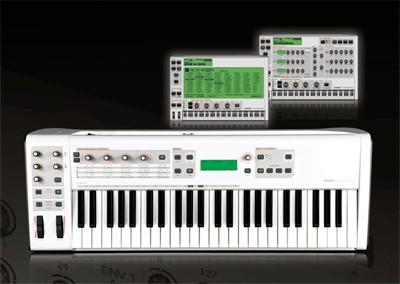 sinte,controlador e interfaz m audio venom