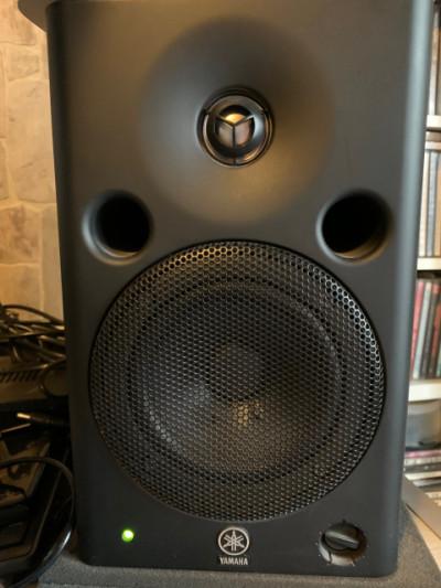 Pareja Yamaha Msp 5 + 2Xlr + Auralex Mopad