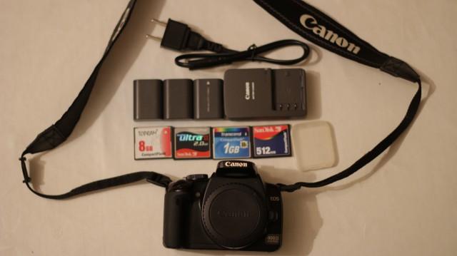 Cuerpo de Canon 400D