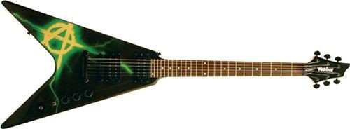 : BUSCO WASHBURN V-Class WV16 Anarchy Series Negra (CAMBIO)