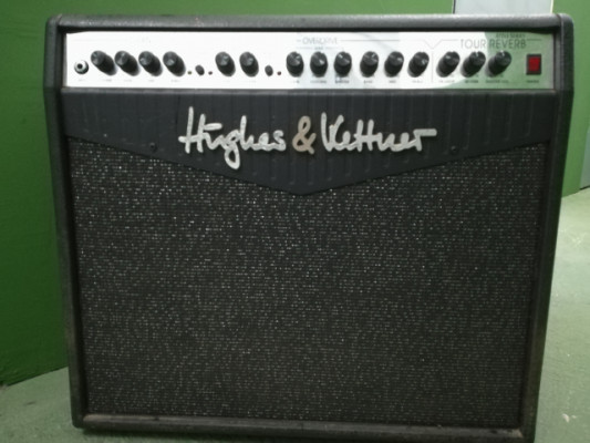 Amplificador Huges & Kettner tour reverb attax series combo 100W