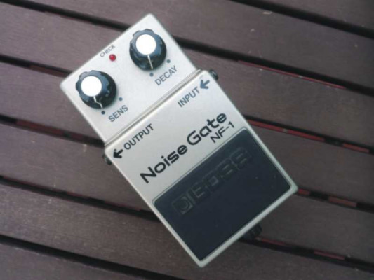 BOSS NF-1 Noise gate. Made in Japan. 1986.