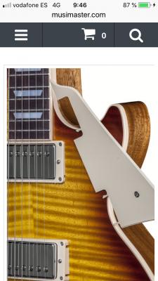 Golpeador Extraible Gibson Les Paul CREAM o NEGRO