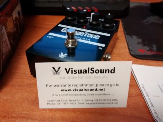 Pedal overdrive Garagetone Drivetrain de Visual Sound