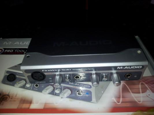 m audio firewire solo vendo o cambio