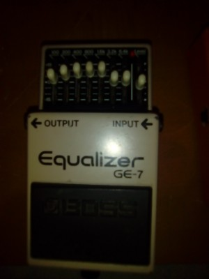 BOSS EQ7 ecualizador