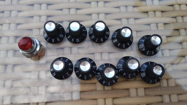 Knobs ...perillas tipo Fender