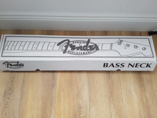 Mástil Fender Precision Bass Vintera 50s Roasted