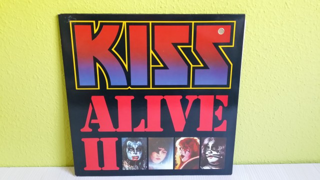 Vendo/Cambio Vinilos Kiss.