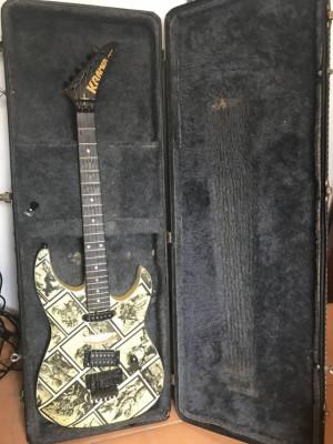 Guitarra Kramer Pacer Custom I americana de 1987