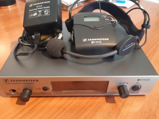 Set Microfono Diadema Sennheiser completo EW300 G3