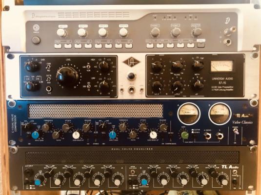 Tl Audio Dual C-1 Dual  Compresor y Valve Equalizer
