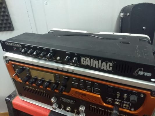Previo valvular Rocktron Gainiac en formato rack