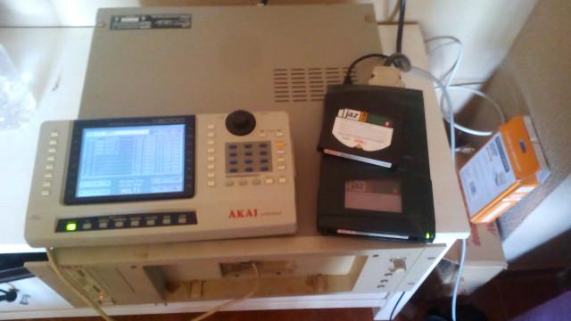 AKAI s6000+Jaz Drive 2+Extras