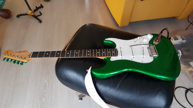 Fender Stratocaster Custom Shop Candy Apple Green!!!