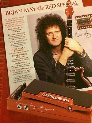 Digitech Pedal Brian May Red Special !!!