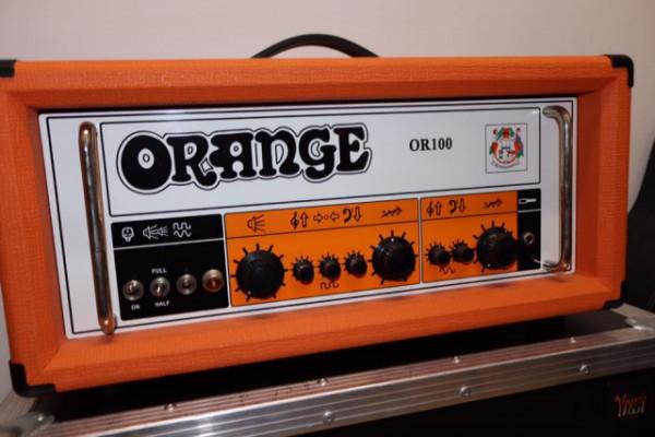 Amplificador de Guitarra Orange OR100 con flightcase a medida