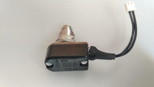 Footswitch Pedal pulsador NO CLICK