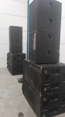 Equipo X-array X-treme audio 15.000w rms