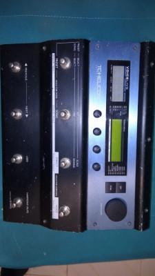 tc helicon voicelive 1 multiefecto pedalera para cantantes