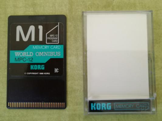 Tarjeta Expansión Korg MPC-12 (World Omnibus) para Korg M1
